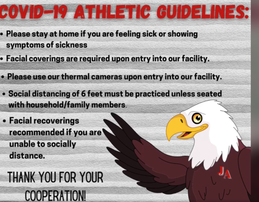COVID-19 Athletic Guidelines