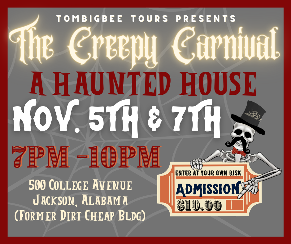 HAUNTED HOUSE 11/5 & 11/7