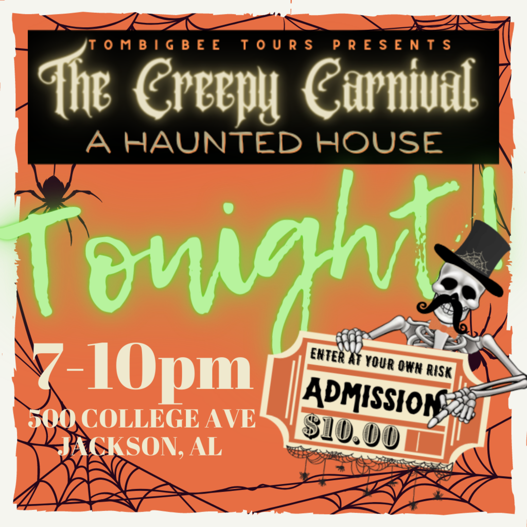 STARTING TONIGHT CREEPY CARNIVAL